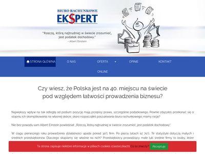 Ekspertspj.pl usługi księgowe w biurze