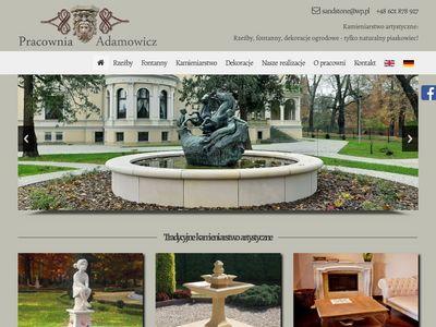 Pracownia rzeźby - producent fontann