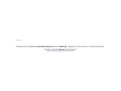 Fajne-domy.pl gotowe projekty domów