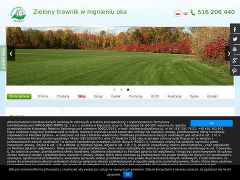 GrasslandFarms.pl - trawnik z rolki