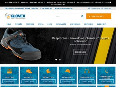 Glovex.com.pl odzież bhp