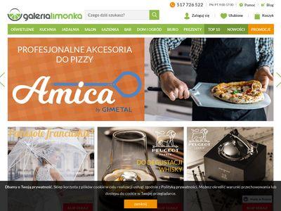 Galerialimonka.pl wyposażenie wnętrz