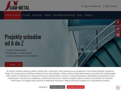 Gam-Metal balustrady metalowe Łódź