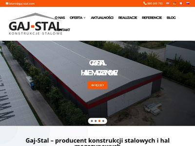 Gaj-Stal - producent hal