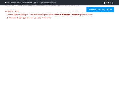 Serwis laptopów dla miasta Radzymin