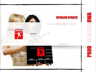 Arlekin.net.pl filmy reklamowe Kraków