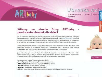 Artbaby A. Dyba garniturki chłopięce