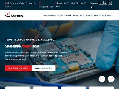 Astren.pl serwis laptopów notebooków