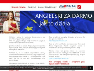 Angielskizdofinansowaniem.pl dla firm