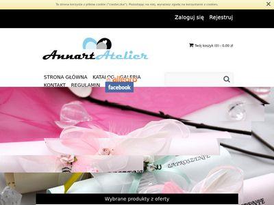 Annart-atelier.pl zaproszenia ślubne