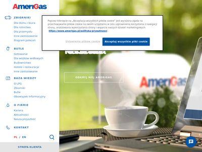 Amerigas.pl - dystrybutor gazu