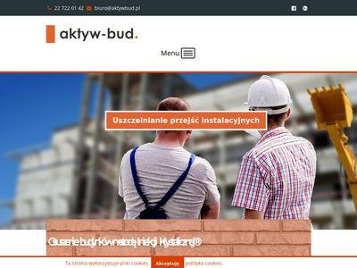 Aktywbud.pl osuszanie budynków