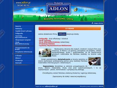 Adlon24.pl - Reklama zewnętrzna Gdańsk