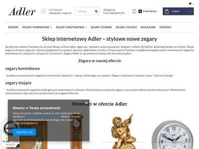 Adler-zegary.pl zegary stojące