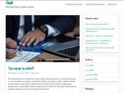 Kancelaria Adwokacka Aleksander Czapski