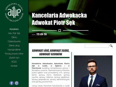 Adwokat-sekpiotr.pl Łódź - Zgierz