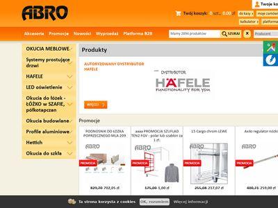 Abro.pl łóżko w szafie półkotapczan