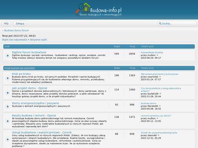 Forum o budowie domu - budowa-info.pl