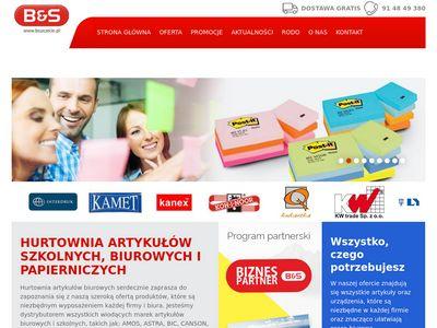 B&S materiały szkolne Szczecin