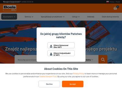 Boels.pl wypożyczalnia narzędzi