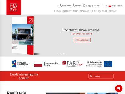 Boram.pl - drzwi aluminiowe