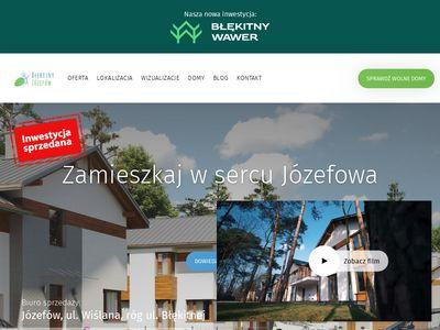 Blekitnyjozefow.pl - nowe domy pod Warszawą
