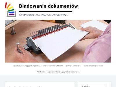 Bindowanie.com.pl bindowanie dokumentów