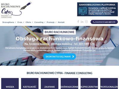 Biurocyfra.pl rachunkowe Wieluń