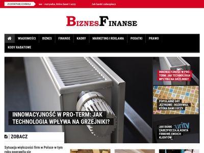 Biznesfinanse.pl serwis