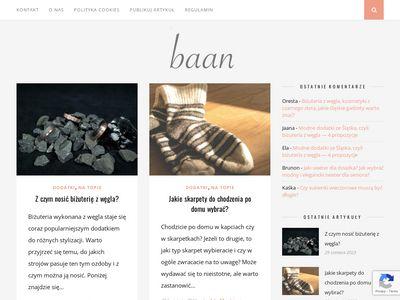 Baan.pl blog o modzie