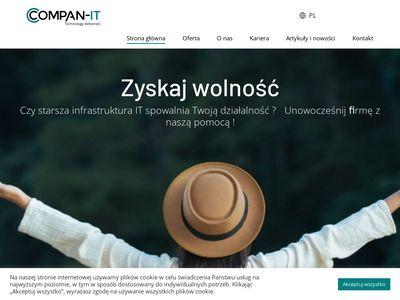 Compan - serwery dla firm