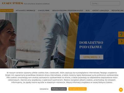 Compo System ewidencja vat Łódź