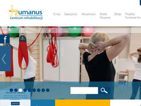 Humanus rehabilitacja dzieci Olsztyn