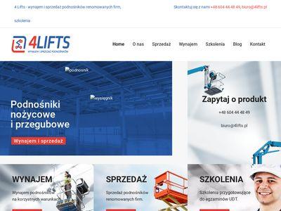 4 Lifts sprzedaż podnośników