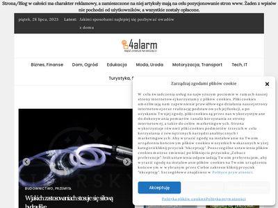 4alarm.pl porady o zabezpieczeniach