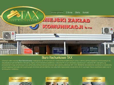 TAX usługi księgowe Przemyśl
