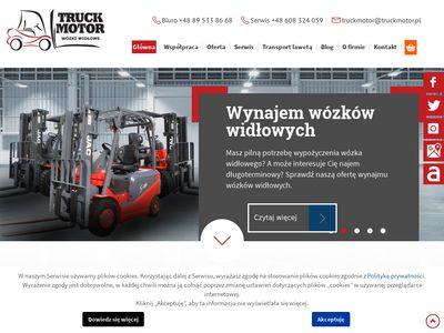 Truck Motor Bis wózki widłowe ewaryst