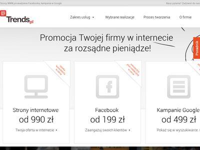 Trends.pl - kampanie w social mediach