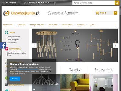 UrzadzajTanio.pl - wyposażenie wnętrz