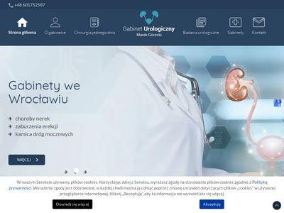 M. Górecki chirurgia urologiczna Wrocław
