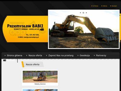 Usługi budowlane maszyny budowlane Lębork
