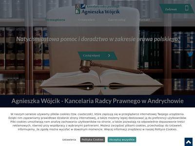 Radcaprawnyandrychow.pl Agnieszka Wójcik