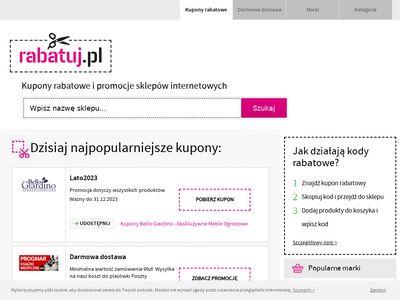 Rabatuj.pl kody rabatowe