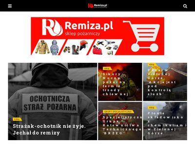 Remiza.com.pl - newsy pożarnicze