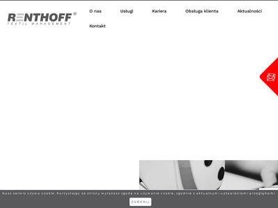Renthoff - obsługa odzieży roboczej