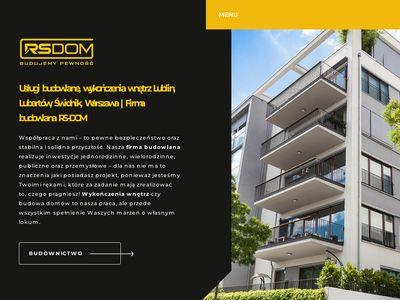Rs-dom.pl usługi remontowe