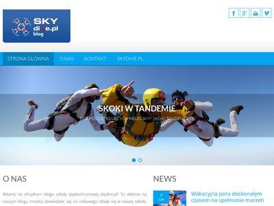 Skydiveblog.pl skoki spadochronowe blog