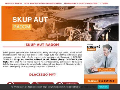 Skupaut24.radom.pl złomowanie pojazdów