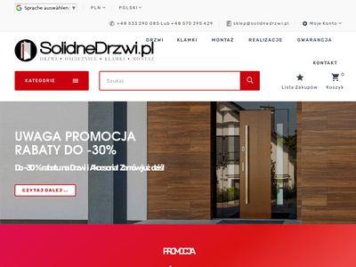 Solidnedrzwi.pl z montażem