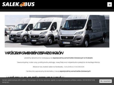 Salekbus.pl wypożyczalnia aut dostawczych